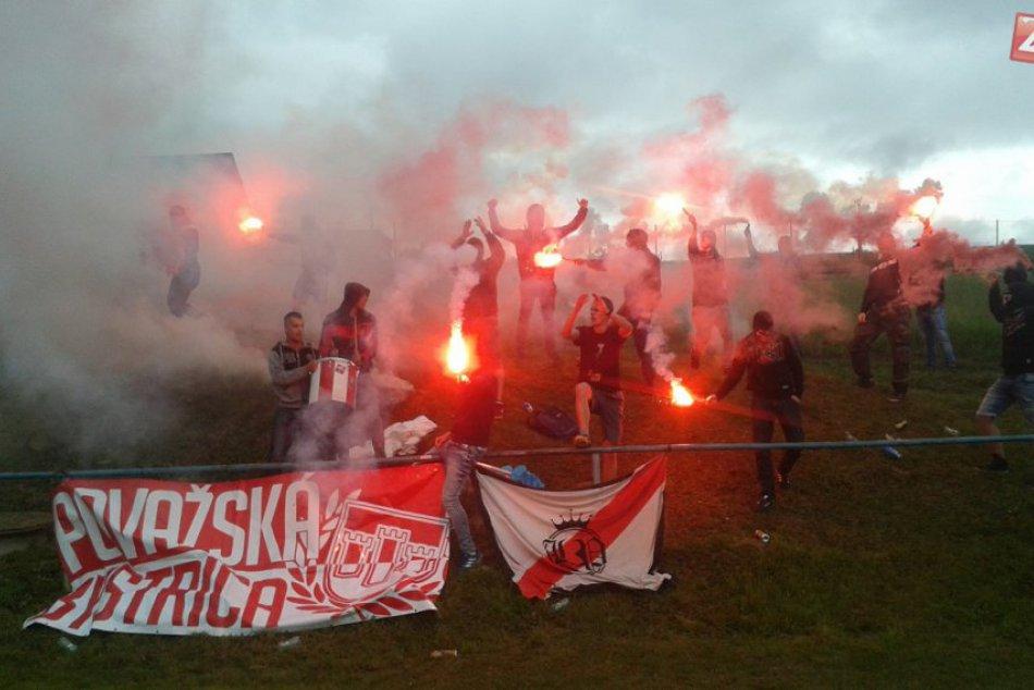 Považskobystrické derby v Podmaníne: Takáto na ňom vládla atmosféra