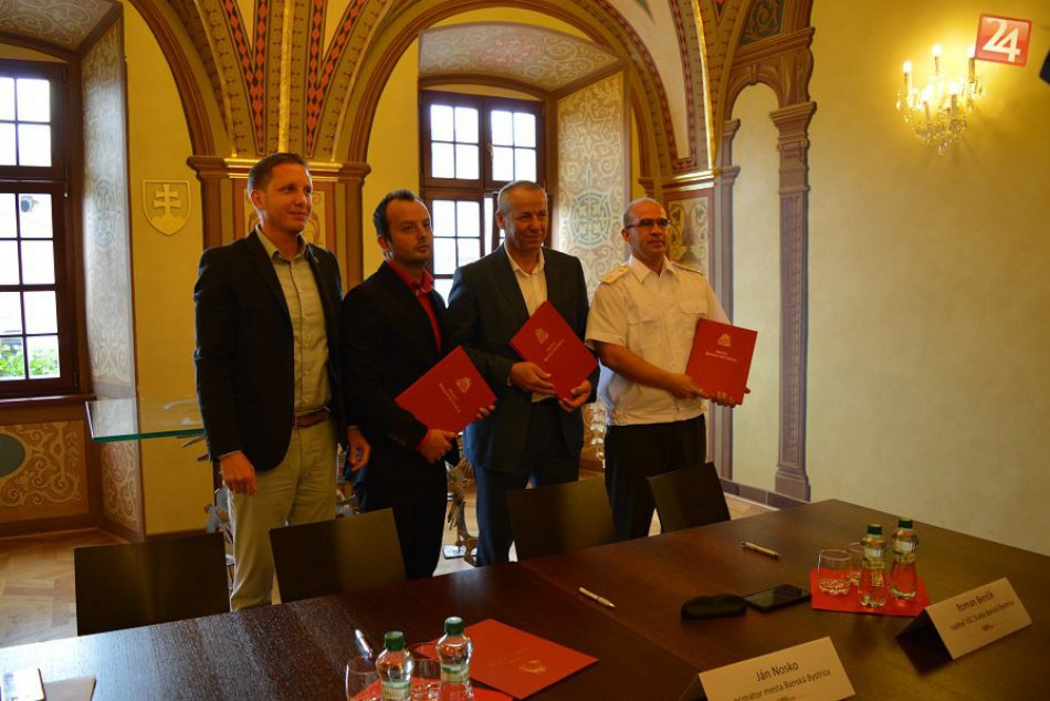 V OBRAZOCH: Podpis Memoranda o spolupráci v Bystrici