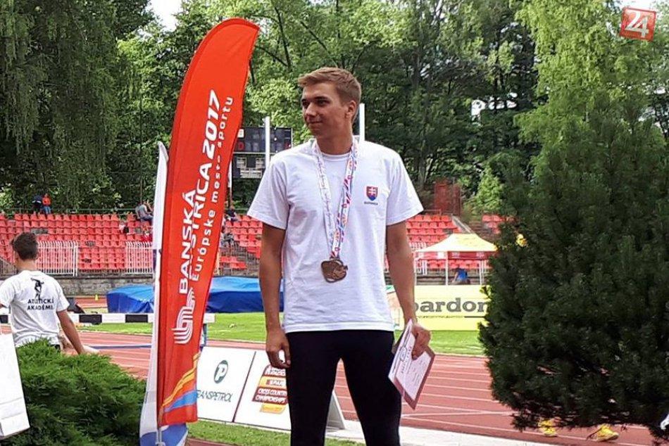 Národný atletický šampionát: Medailové úspechy Považskobystričanov