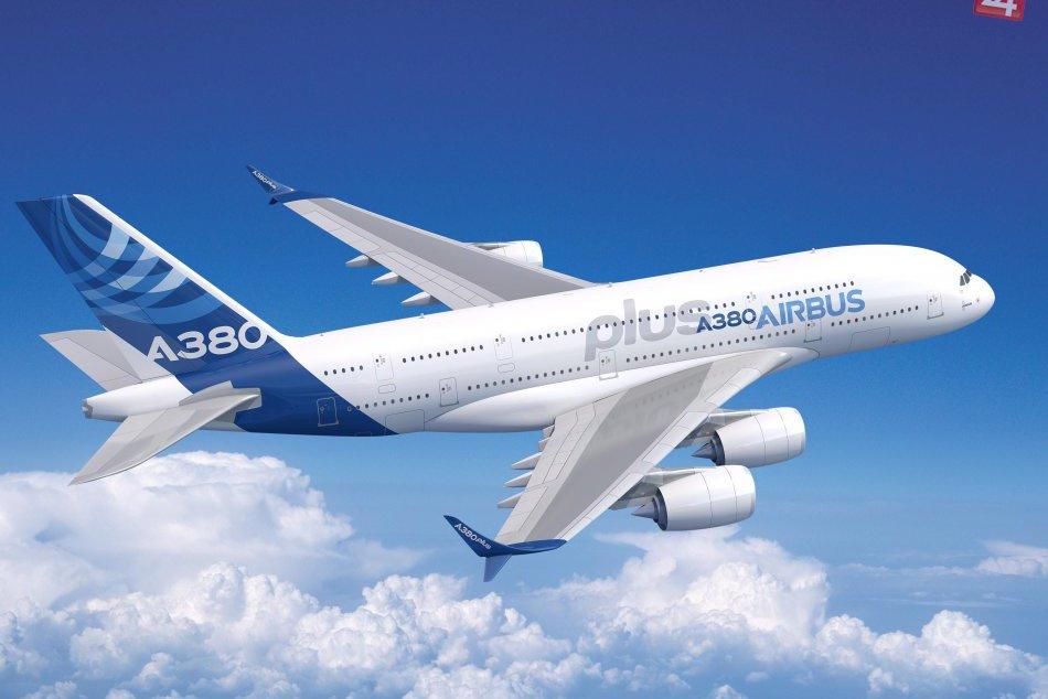 V OBRAZOCH: Nad Sliač vzlietne Airbus A380