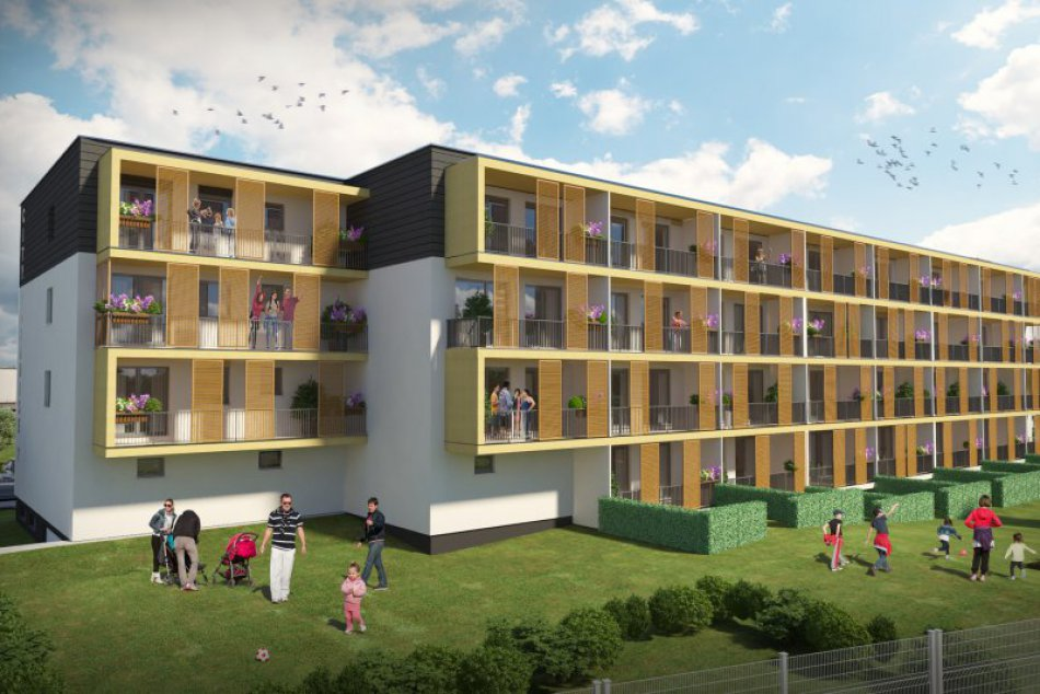 V Prešove postavia nový rezidenčný projekt so 60 bytmi: Takto to bude vyzerať!