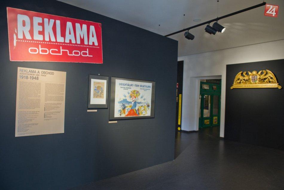 Výstava Reklama a obchod 1918-1948 na Bratislavskom hrade