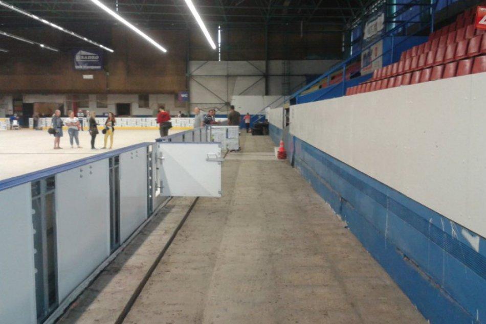 Rekonštrukcia považskobystrického zimného štadióna: Pozrite si jeho vynovenie