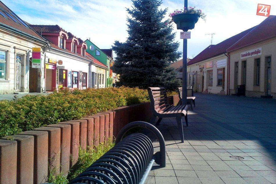 OBRAZOM: Pešia zóna na M.R. Štefánika v Hlohovci