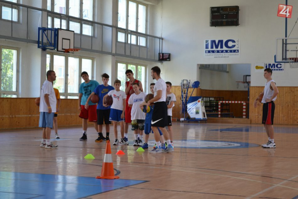 Basketbalový kemp v Považskej: Zábery z tréningovej zaberačky