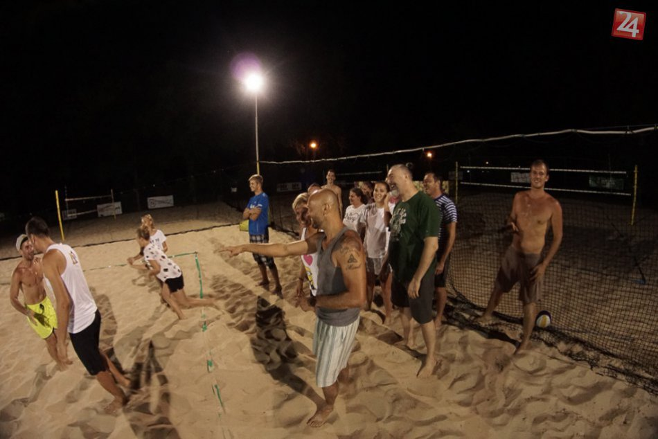 Exhibácia a nočný pyžamový kolotoč NR Beach