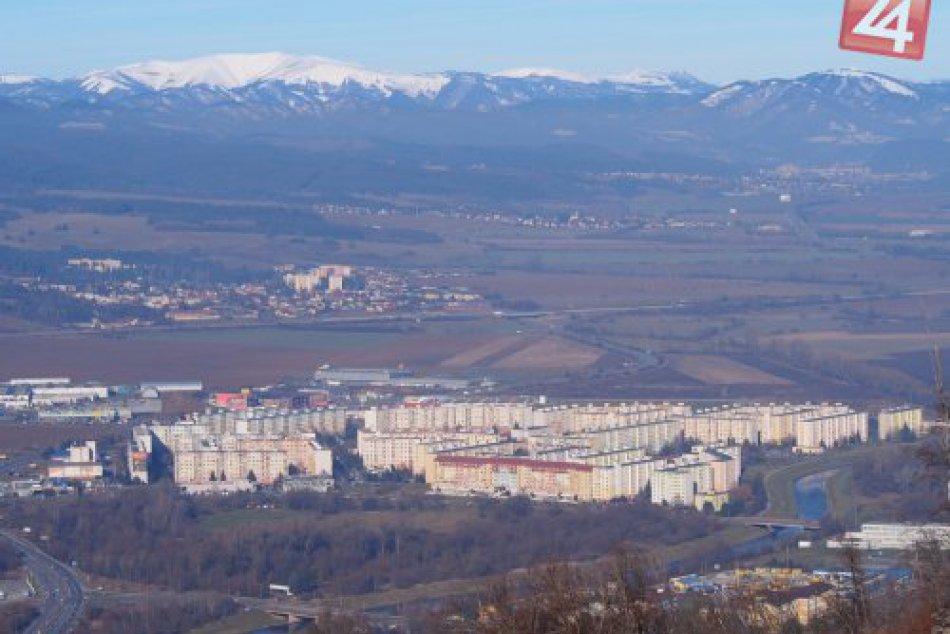 V OBRAZOCH: Úchvatné výhľady na Zvolen z Pustého hradu