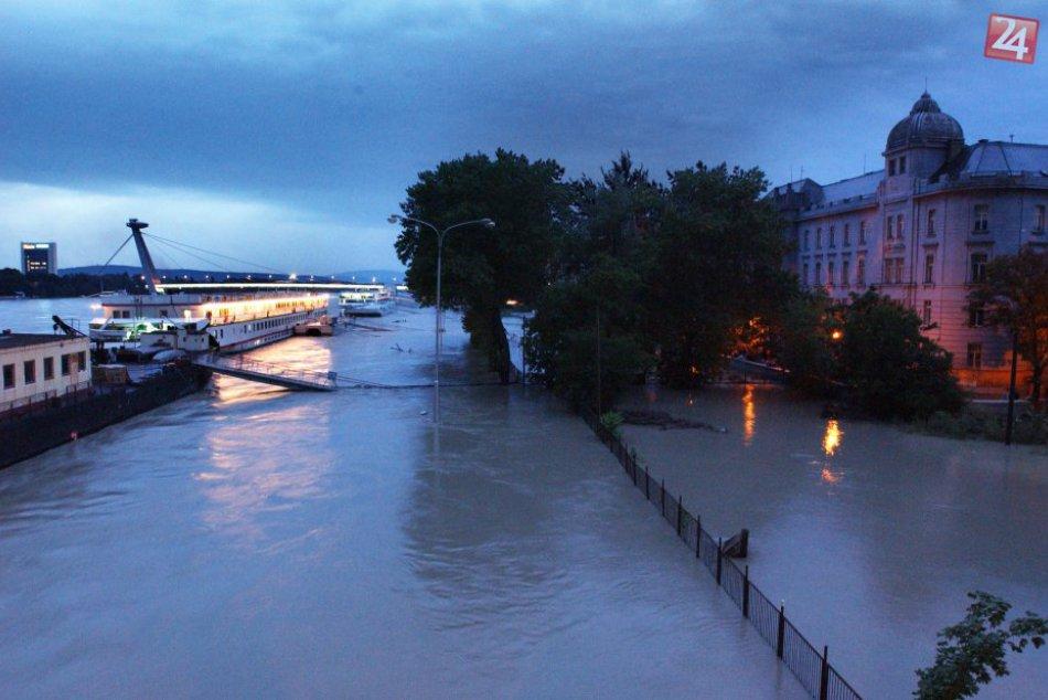 Mesto pred 15 rokmi zasiahla jedna z najväčších povodní na Dunaji