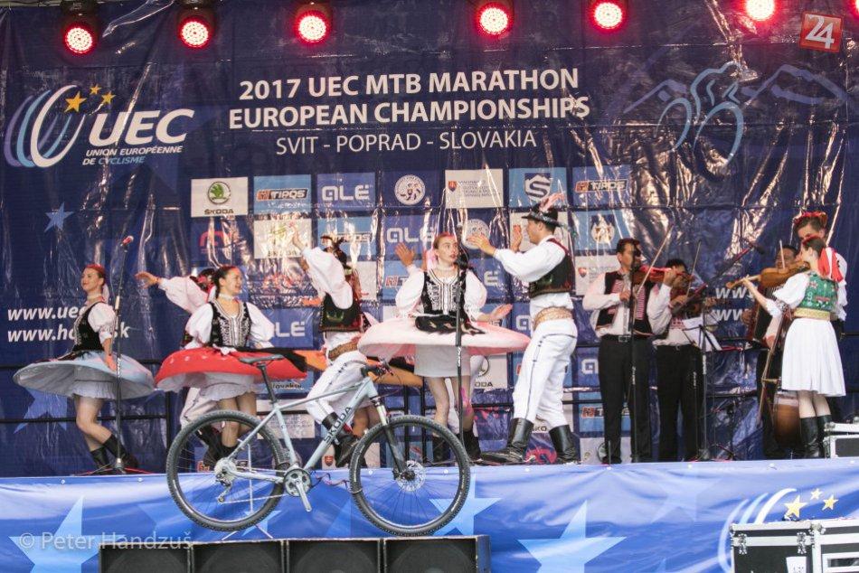 Majstrovstvá Európy v horskej cyklistike Svit 2017