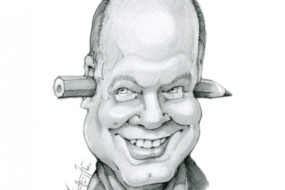 V OBRAZOCH: Spoznáte známe osobnosti na karikatúrach Zvolenčana Jána?