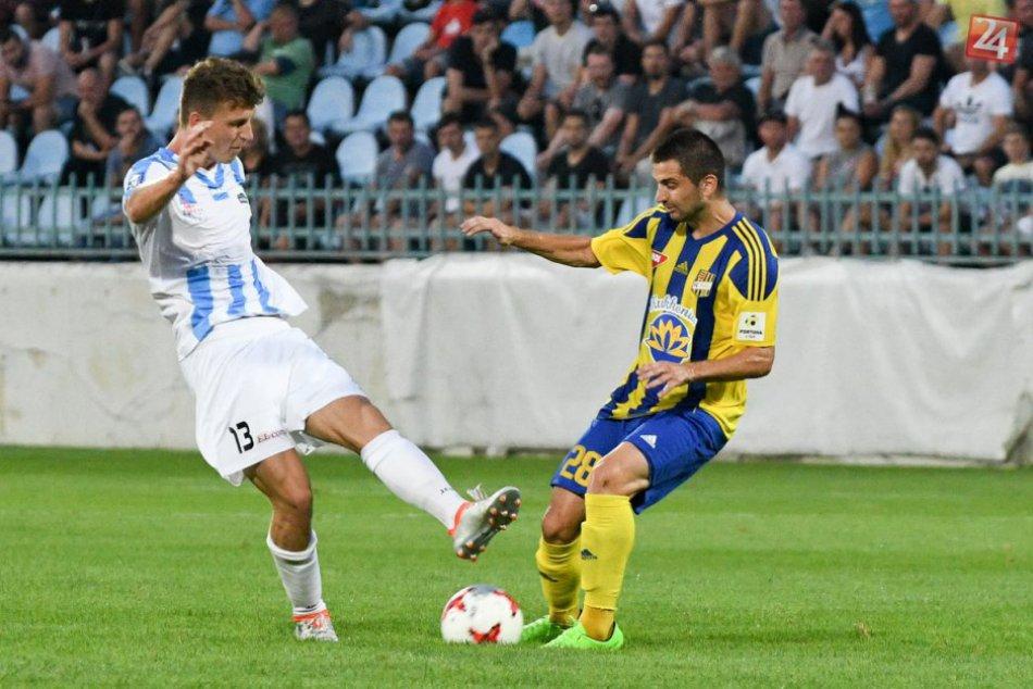 FC Nitra ostáva na ligovom vrchole: Doma si poradil s Dunajskou Stredou, FOTO