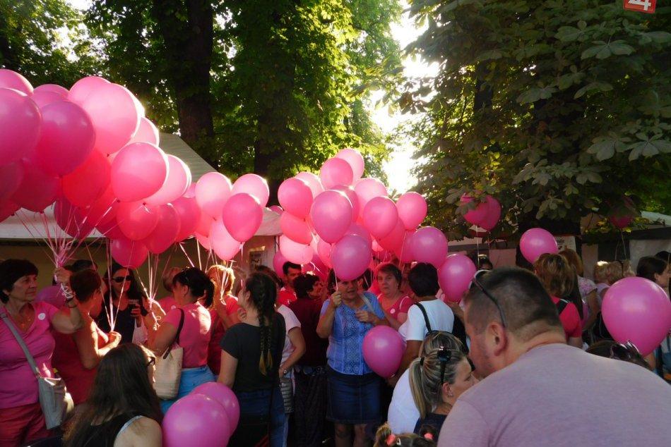 Obrazom: Počas Dní mesta sa v Spišskej konal aj 3. ročník Ružového pochodu