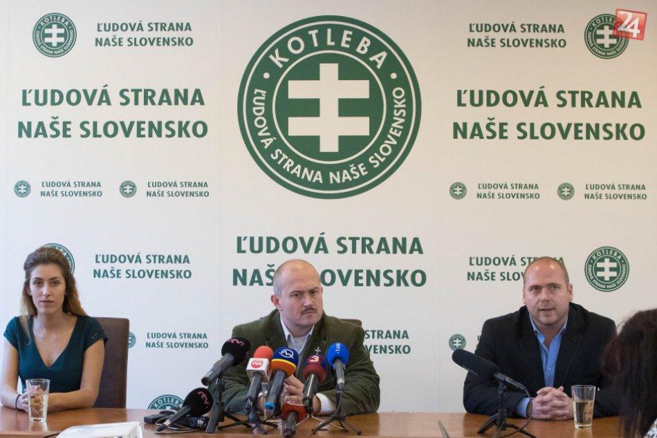 V OBRAZOCH: Kotleba ohlásil kandidatúru na župana BBSK