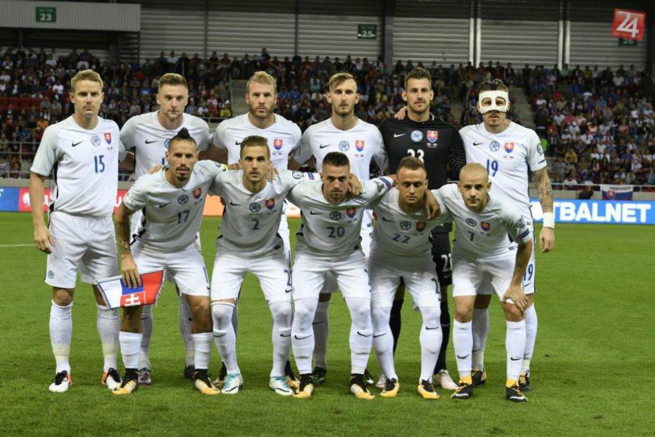 Futbalová reprezentácia úspešná: V kvalifikácii zdolala Slovinsko
