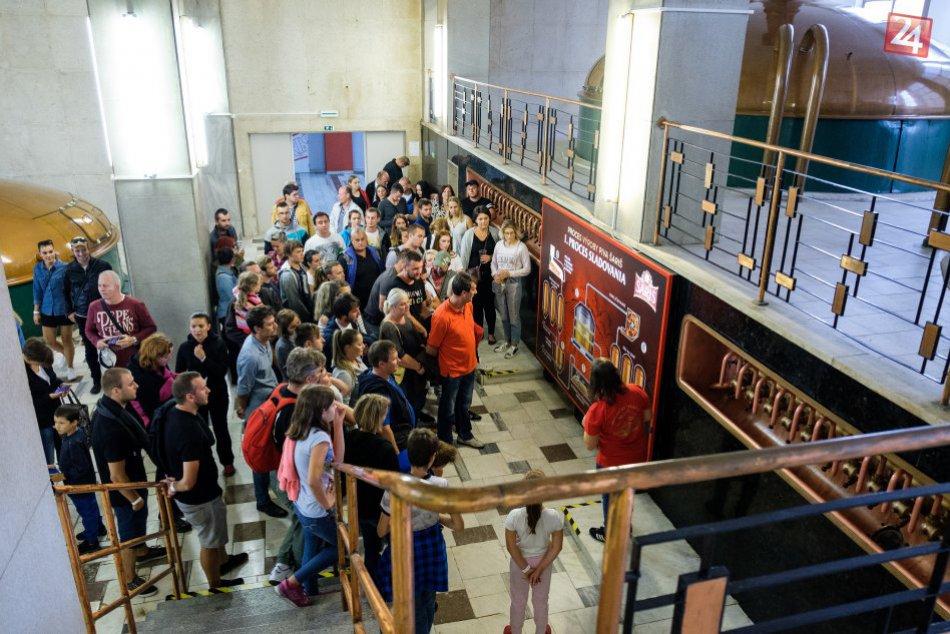 Našim OBJEKTÍVOM: Známy pivovar pri Prešove privítal množstvo návštevníkov