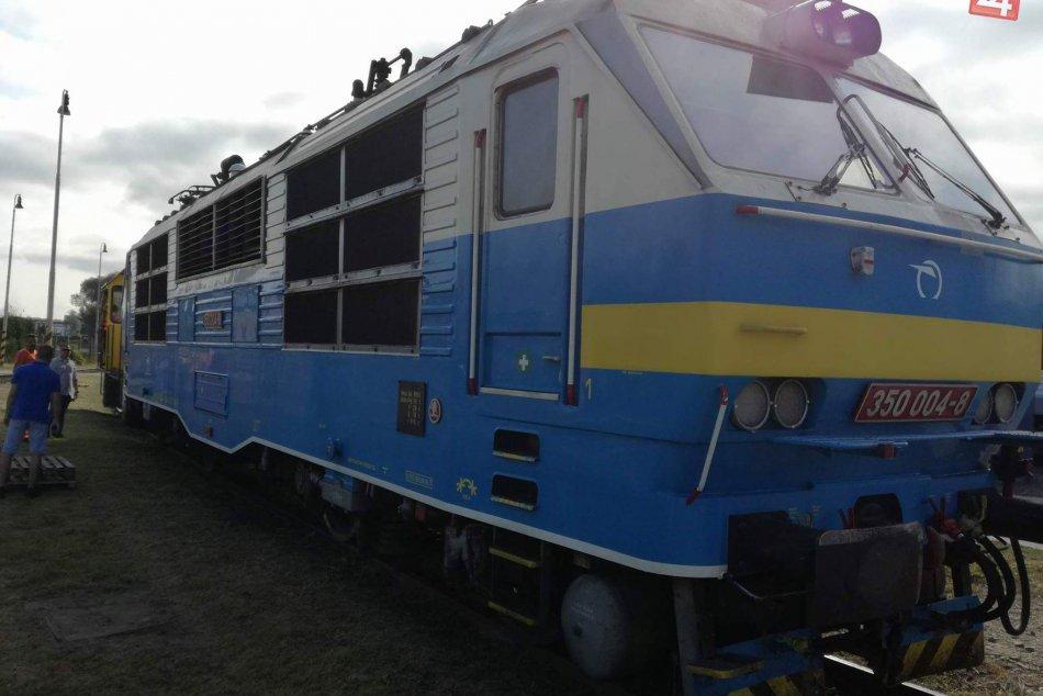 FOTOGALÉRIA: Aj takéto stroje boli k videniu počas Dňa železnice v Humennom