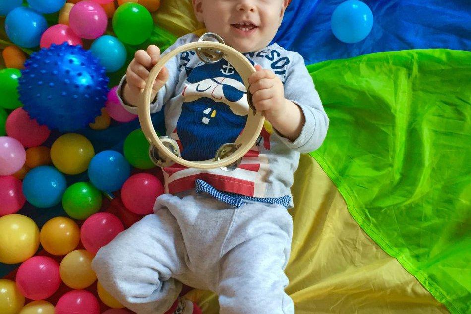 Na hodinách BabyGymu v Žiari vám poradia, ako správne cvičiť s detičkami