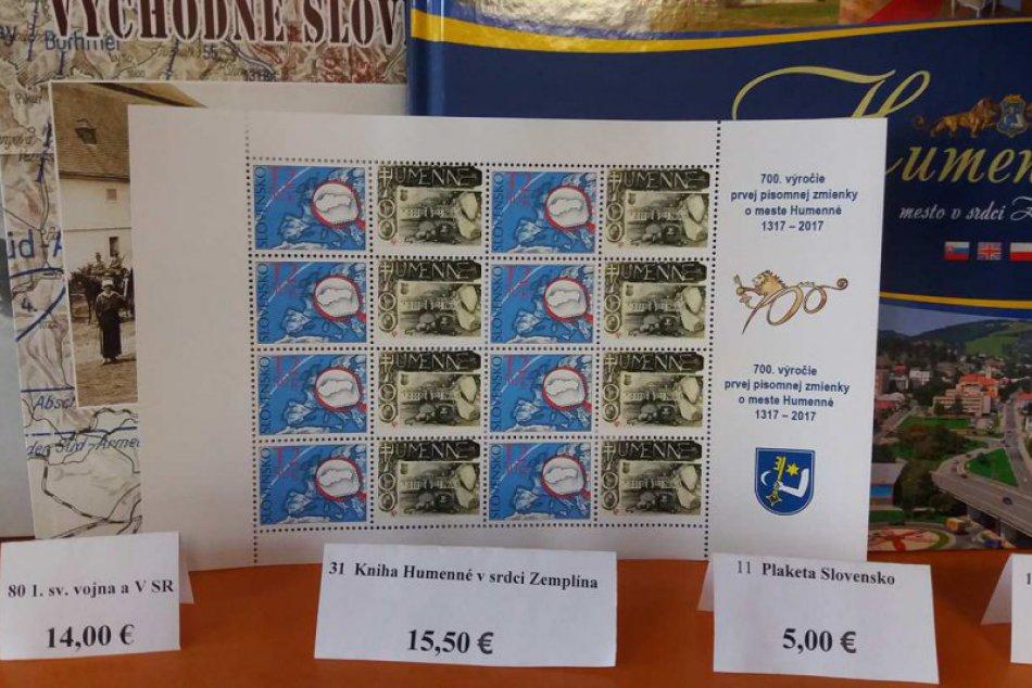 FOTO:  Pri príležitosti 700. výročia Humenného vznikla unikátna známka