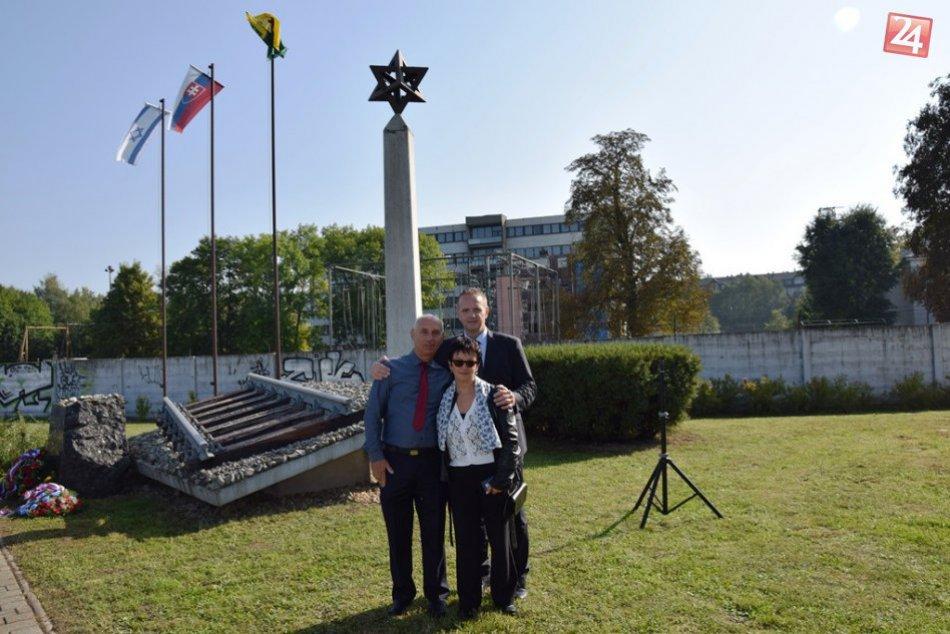 Spomienka na Deň holokaustu a rasového násilia v Žiline