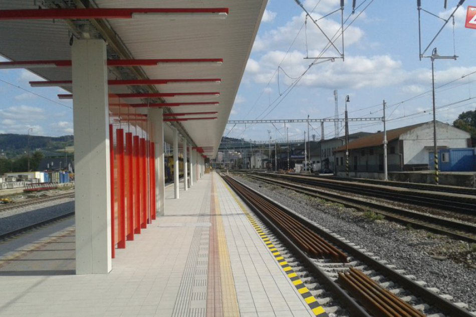 Zmena na stanici v Považskej Bystrici: Kde bude po novom nástup a výstup?