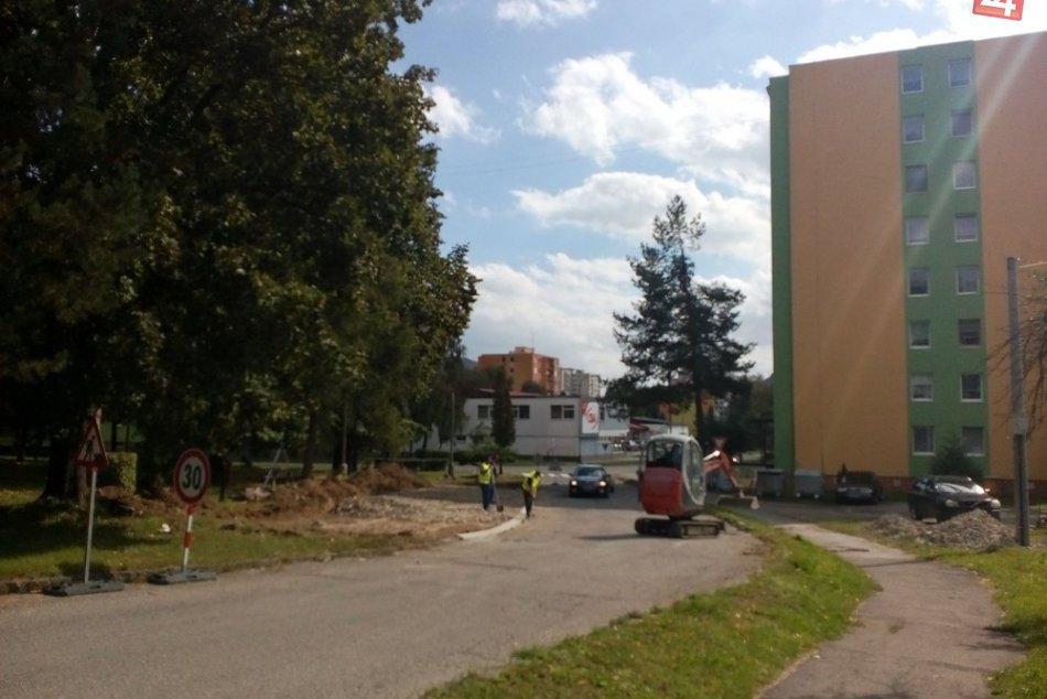 OBRAZOM: Pozrite si nové parkovacie plochy v Humennom