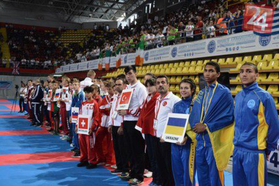 Majstrovstiev Európy juniorov a kadetov sa zúčastnili aj michalovskí kickboxéri
