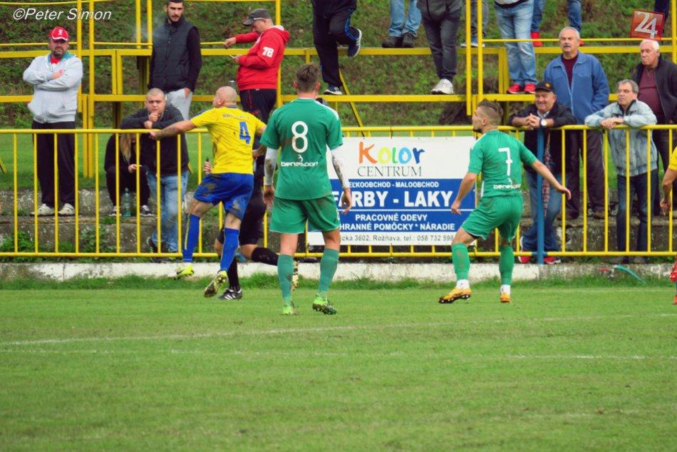 Obrazom: MFK Rožňava - 1. FC Tatran Prešov B 1:0
