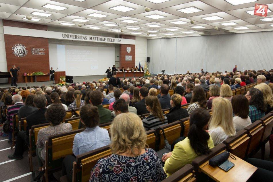 V OBRAZOCH: Otvorenie akademického roka na UMB v Banskej Bystrici