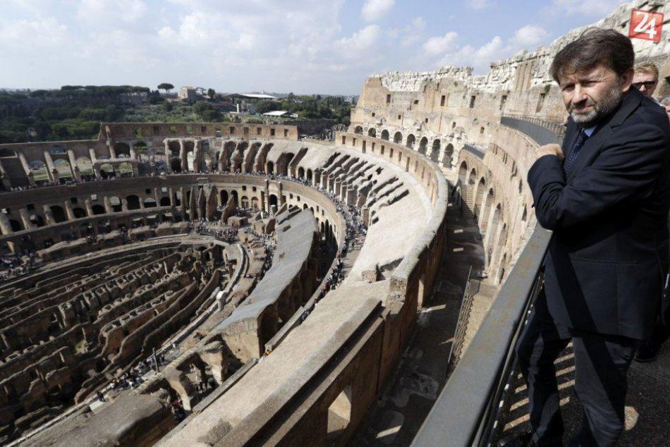 KURIOZITA DŇA: Známa pamiatka ožíva, Koloseum má zrekonštruované ďalšie podlažia