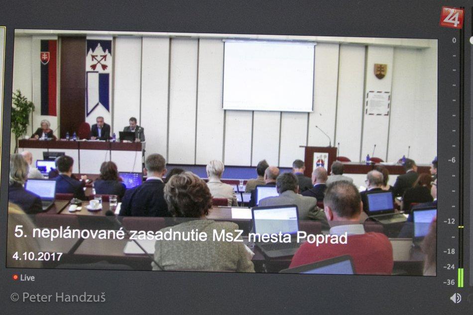 Sledujte s nami riadne zasadnutie mestských poslancov v Poprade