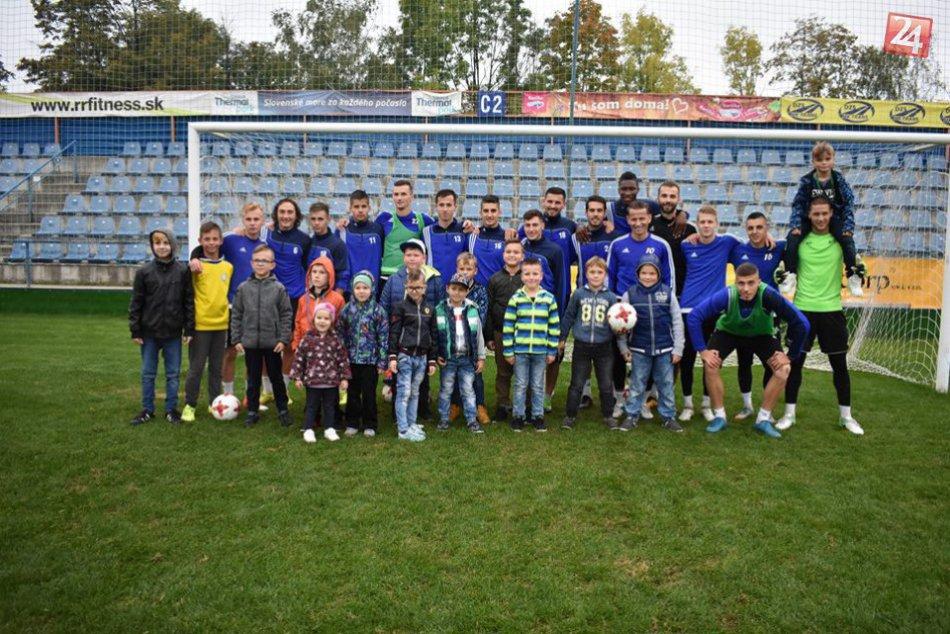 Fotoreportáž z Dňa otvorených dverí na futbalovom štadióne v Michalovciach