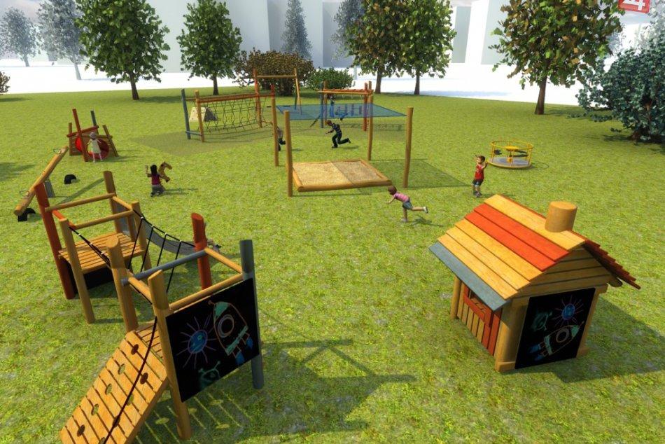 Obrazom: Mesto odkleplo ihrisko - VIZUALIZÁCIA
