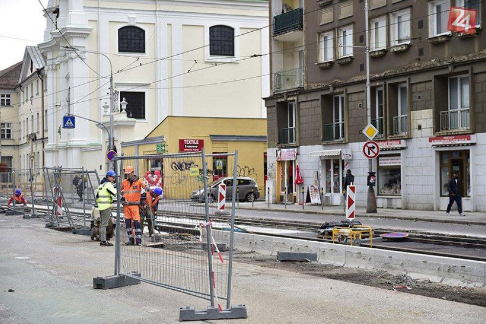 Rekonštrukcia trate na Špitálskej