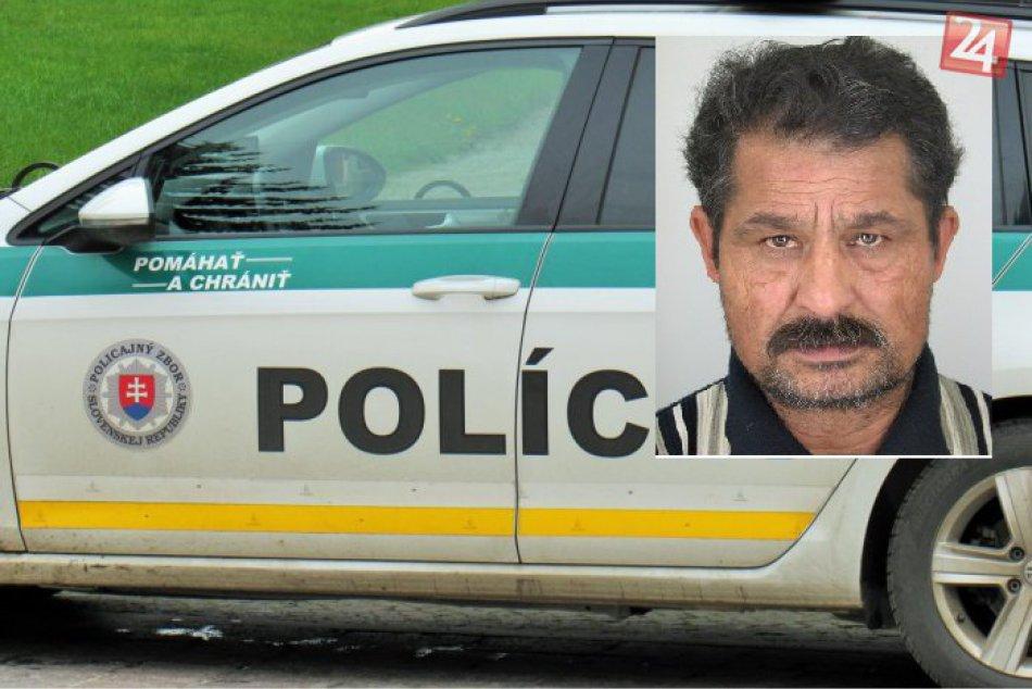 Nevideli ste niekde tohto muža? Polícia po ňom pátra
