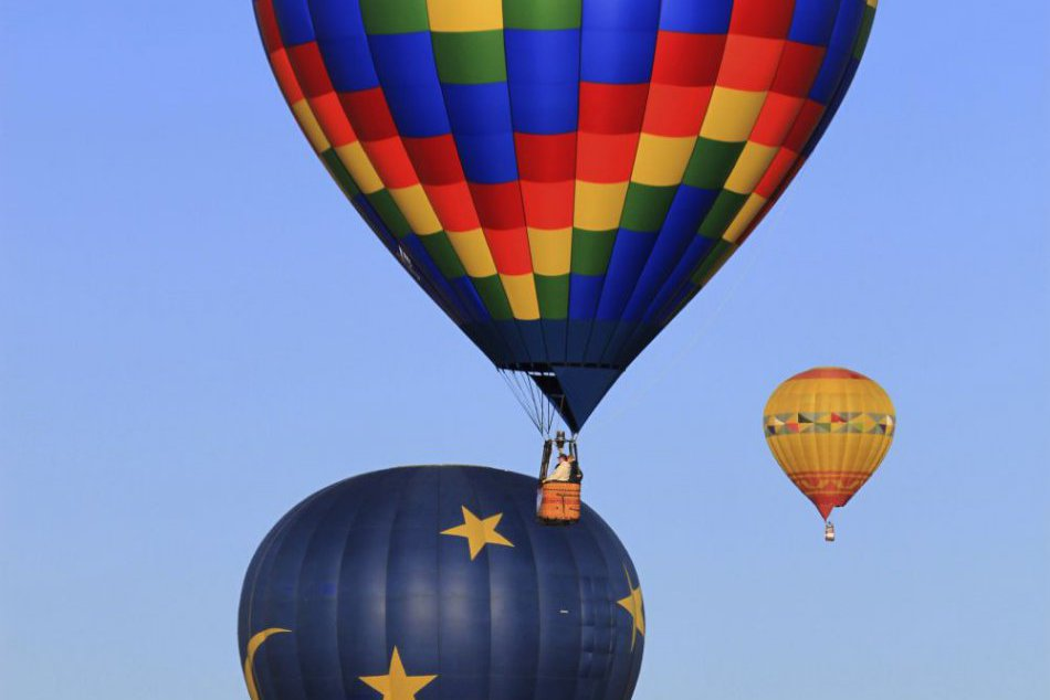 V Novom Mexiku sa stretli milovníci teplovzdušných balónov