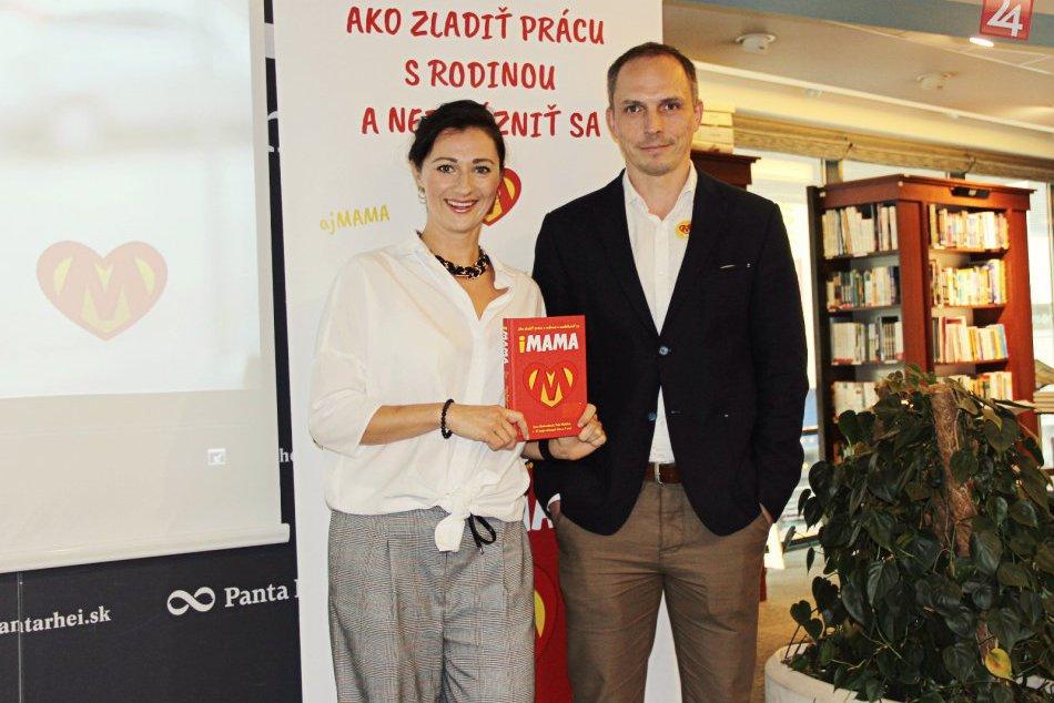 V Bratislave pokrstili iMAMU, netradičnú novinku na slovenskom knižnom trhu