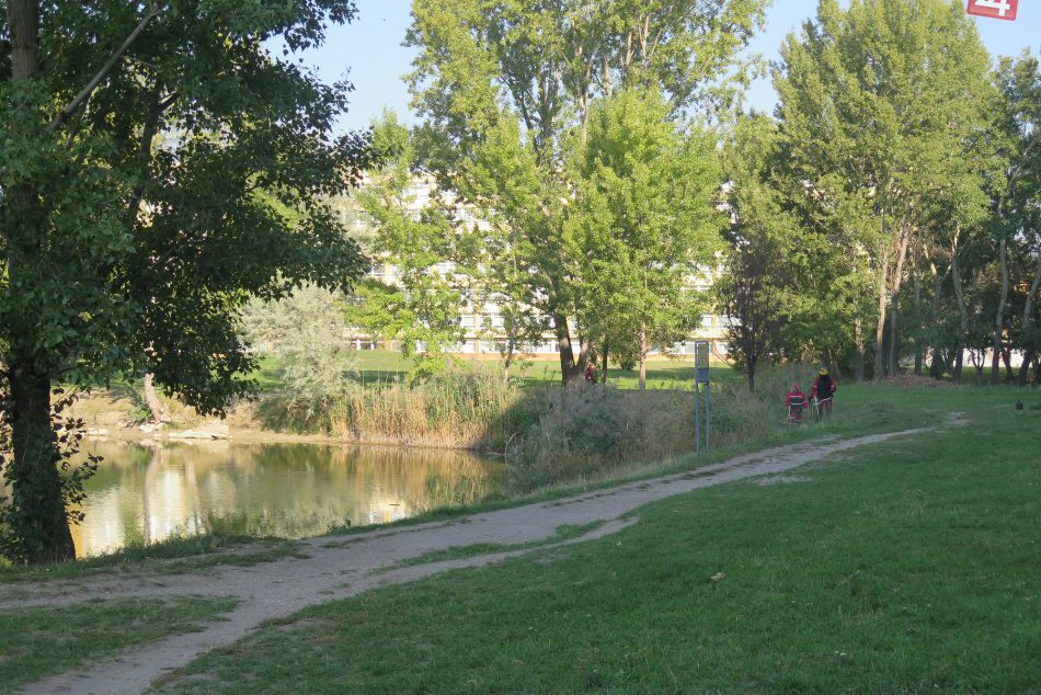 Zrevitalizované jazero Rohlík