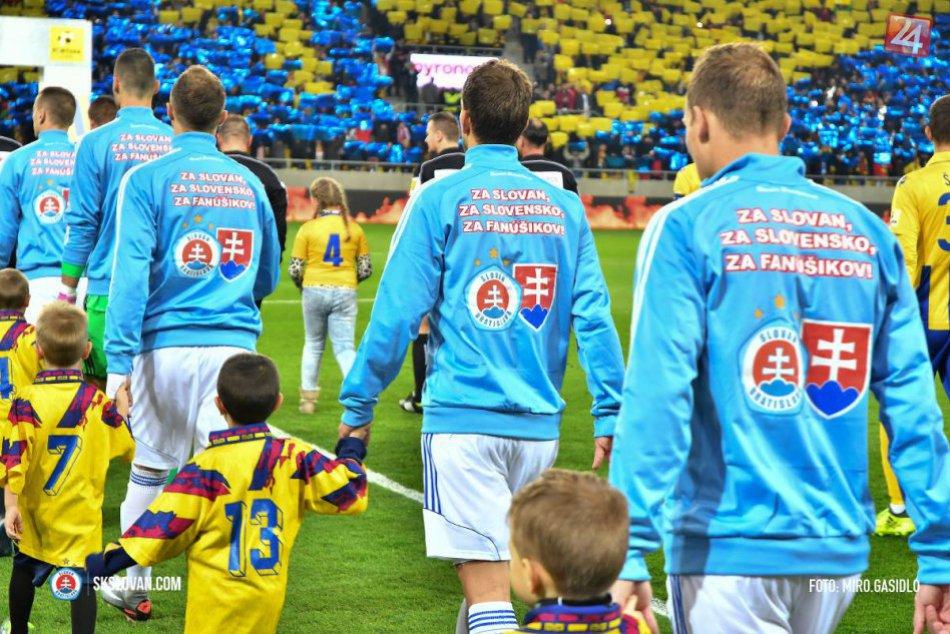 Špeciálne futbalové dresy Slovana