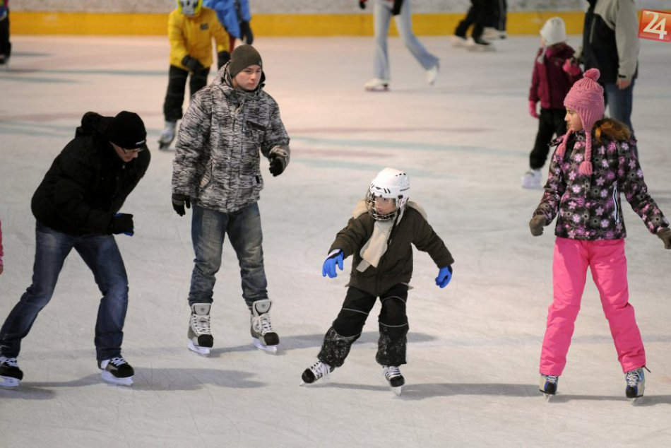 Verejné korčuľovanie
