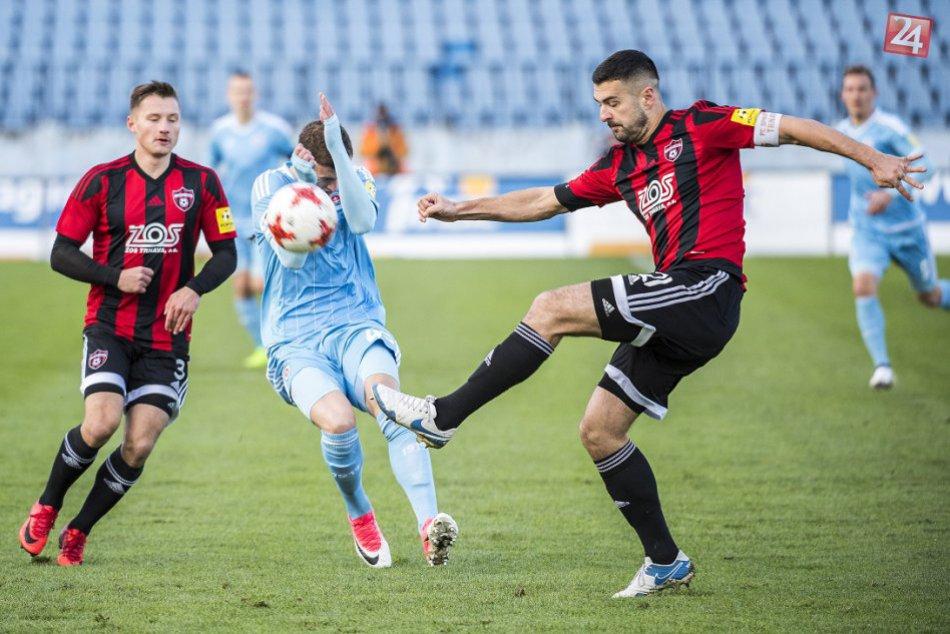 OBRAZOM: Slovan Bratislava - Spartak Trnava 1:0 v 16. kole