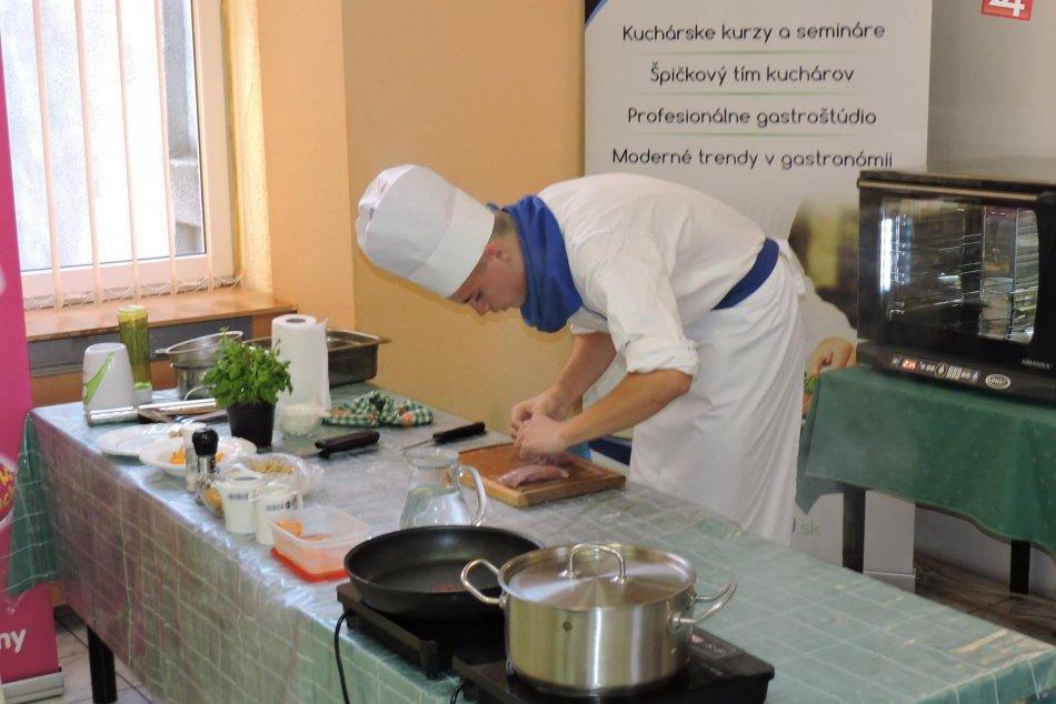 Úspešný kuchár Hotelovej akadémie v Spišskej.