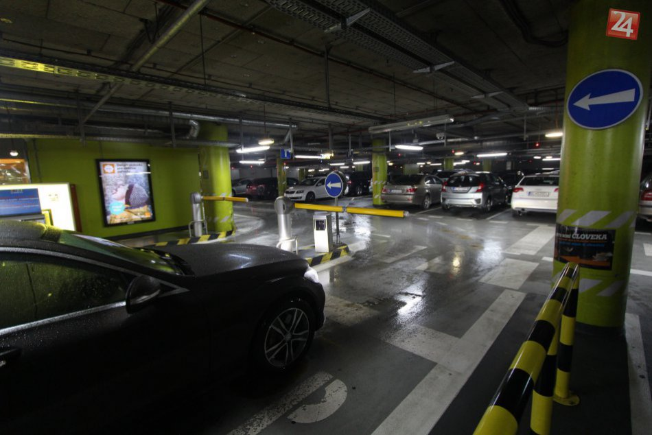 Parkovanie Eurovea