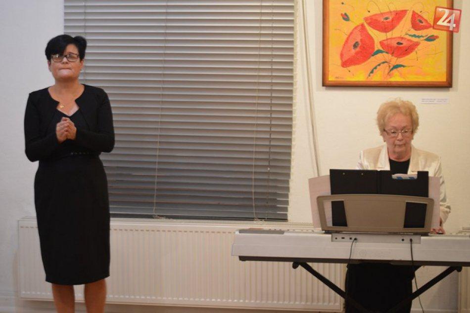 Obrazom: V galérii prezentuje svoje diela Gyarmati Mária