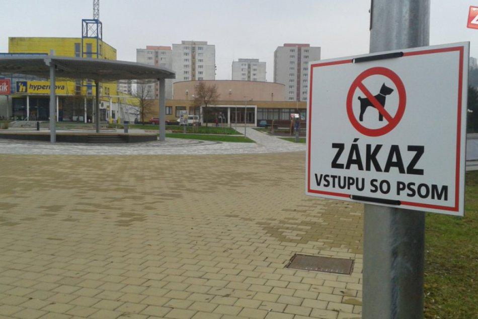 Zákaz vstupu so psom do centra Považskej Bystrice: Týka sa tohto priestoru