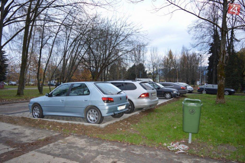Nové parkovacie miesta na uliciach Berlínska a Varšavská