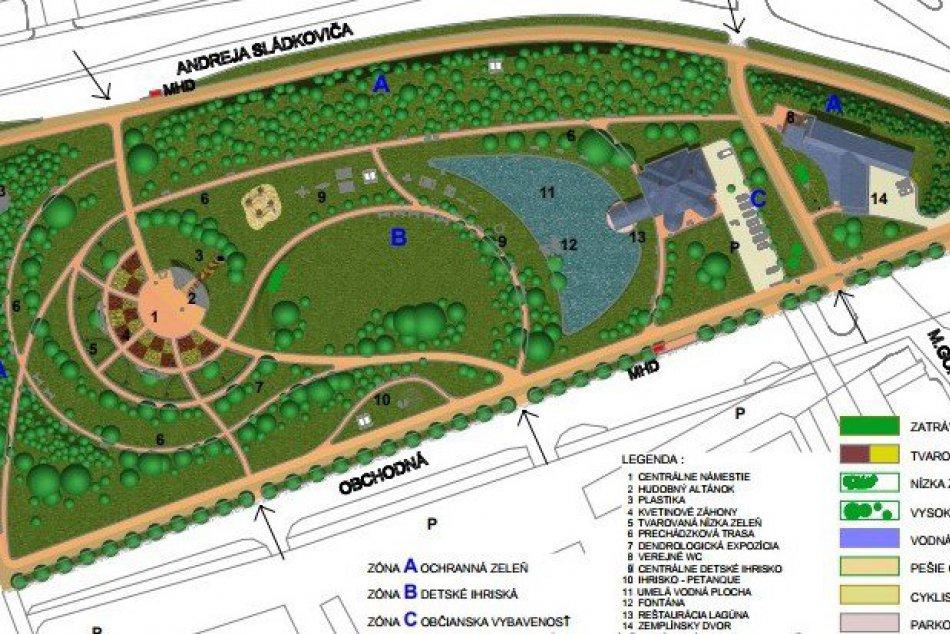VIZUALIZÁCIA: Takéto zmeny sú v pláne v známom michalovskom parku