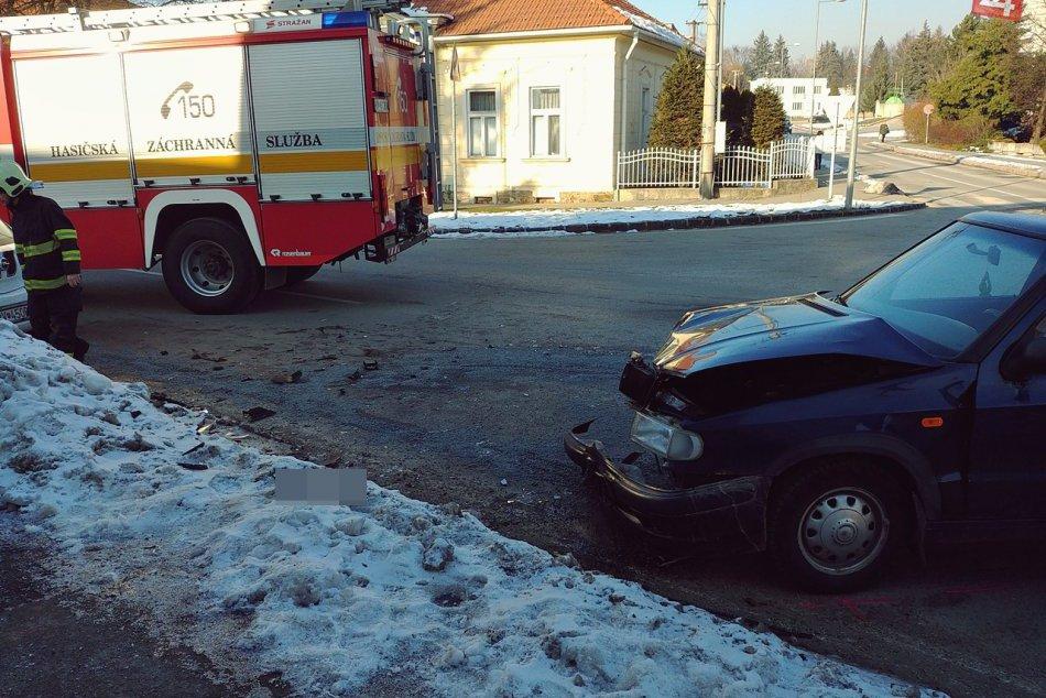 Obrazom: Nehoda na Štítnickej v Rožňave