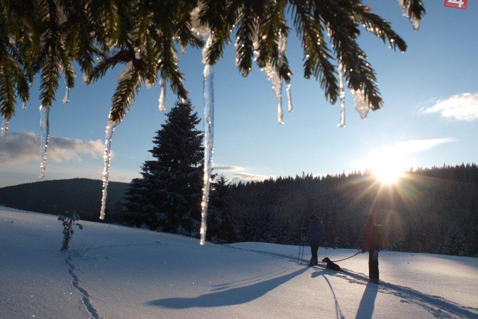 Obrazom: Slovenský raj pod bielou perinou