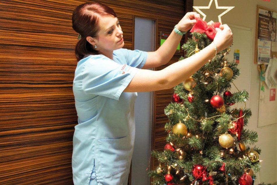 V OBRAZOCH: Vianoce v Nemocnici Zvolen