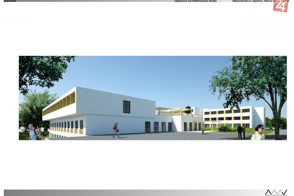 Vizualizácie komplexu pre seniorov v Dúbravke